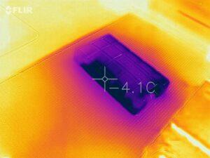 FLIR Värmekamera temperaturmätning