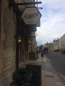 Honungsrestaurang - Oxford, England