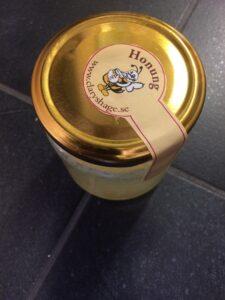 Ny honungsburks etikettdesign 2020